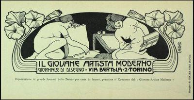 Giris, Cesare  [Il giovane artista moderno]