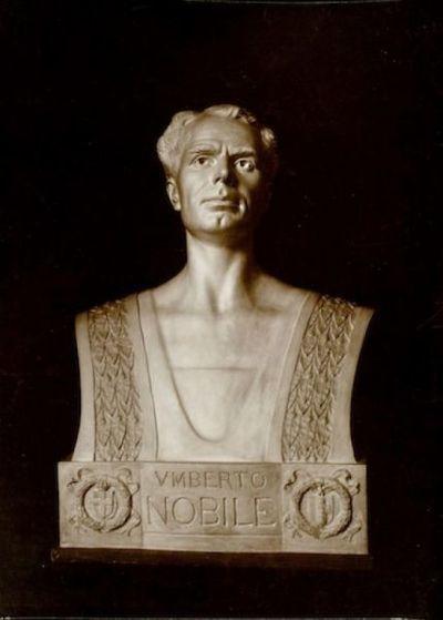 Busto ritratto di Umberto Nobile