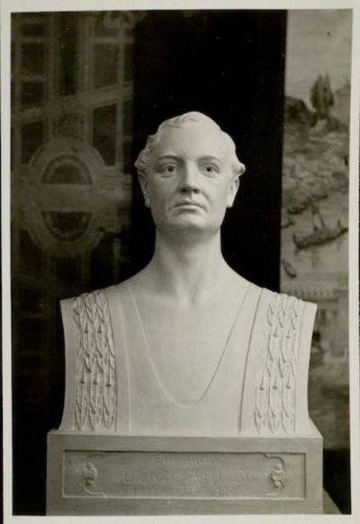 Busto  ritratto di Edoardo Boccardo