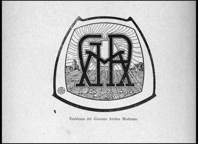 Ceradini, Mario - [Emblema]