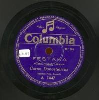 Festara  [Grabación sonora]  : canto popular vasco  / [R. Sarriegi]. Kalez - kale : pasacalles vasco / Sorozabal