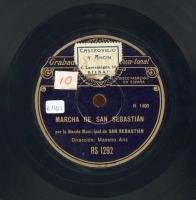 Marcha de San Sebastián  [Grabación sonora]  ; Tatiago - Yriyarena : bailables vascos  / [Raimundo Sarriegui]