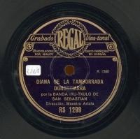 Diana de la Tamborrada Donostiarra  [Grabación sonora]  ; Yriyarena  / [Raimundo Sarriegui]