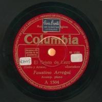 El Cristo de Lezo  [Grabación sonora]  : zortziko  / [poesía de] Grillo ; y [música] Arrate. La del pañuelo rojo : zortziko / I. Tabuyo