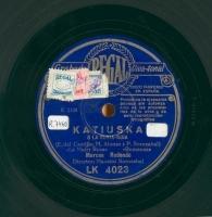 Katiuska o La Rusia roja  [Grabación sonora]  / [texto] E. del Castillo, M. Alonso ; y [música] P. Sorozabal
