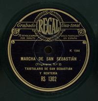 Marcha de San Sebastián . Yriyarena, nº 2  [Grabación sonora]  / [Raimundo Sarriegui]. San Marcial y biribilketa (nº 2)