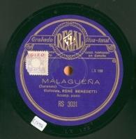 Malagueña  [Grabación sonora]  ; Habanera  / Sarasate