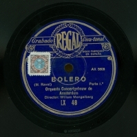 Bolero [Grabación sonora]  / M. Ravel