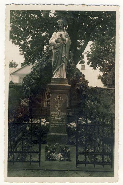 Kunigo Juozapo Norvilos kapas