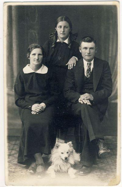 Anykštėnų prekybininkų Gadliauskų šeima