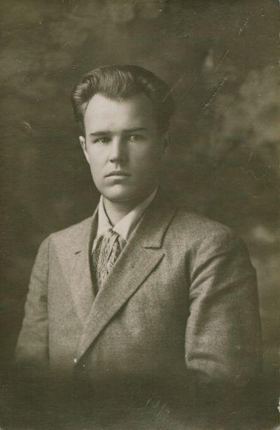 Nuotrauka. Rašytojas A. Giedrius-Giedraitis