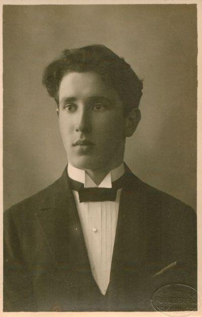 Nuotrauka. Poeto P. Lemberto brolis