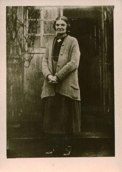 Nuotrauka. Rašytoja Šatrijos Ragana (M. Pečkauskaitė)
