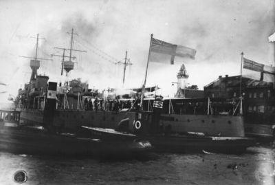 Klaipėda. Didžiosios Britanijos karinio jūrų laivyno vizitas