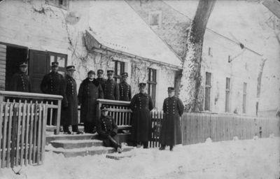 7-ojo pėstininkų Žemaičių kunigaikščio Butegeidžio pulko antrojo bataliono karininkai