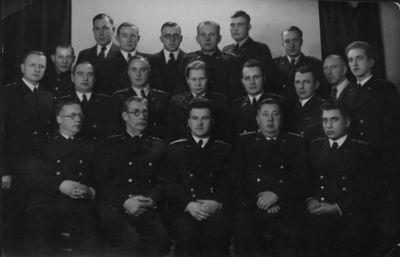 Klaipėdos geležinkelio muitinės tarnautojai
