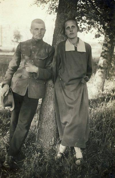 Kostantas ir Vlada Vaitkai. 1922 metai