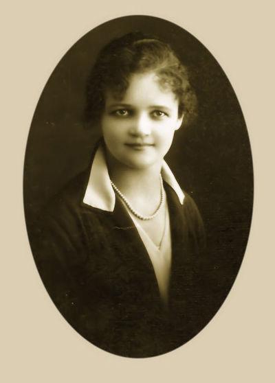 Marija Ingelevičiūtė. Panevėžys, 1929 m. balandžio 20