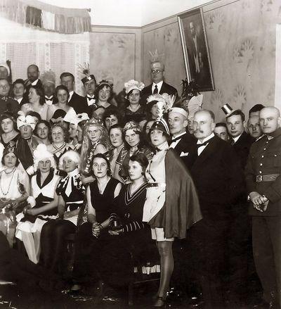 Naujametinis karnavalas. Radviliškis, 1938 metai