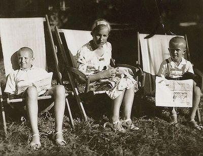 Rimgaudas, Kazė, Vytis Vaitkai. Palanga, 1939 m. liepa