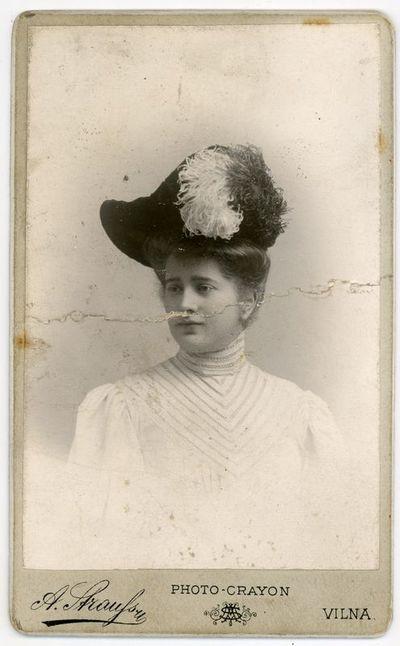 Maria Deloff. Vilnius, 1906 metai