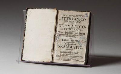 Vocabvlarivm Litthvanico-Germanicvm, et Germanico-Litthvanicvm (Lietuvių - vokiečių ir vokiečių - lietuvių kalbų žodynas)