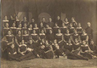 """""""Saulės"""" draugijos mokytojų I-as kursas Voroneže 1916–1917 m."""