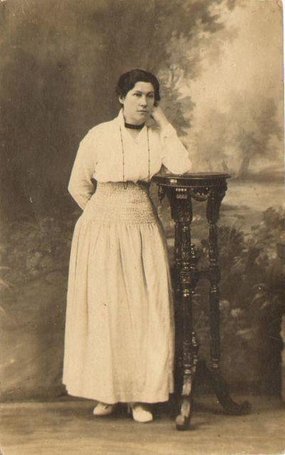 Lietuvių karo pabėgėlių prieglaudos vedėja Felicija Lialytė Petrograde 1916 m.