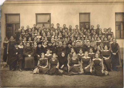 """""""Saulės"""" kursai Voroneže 1916 m."""