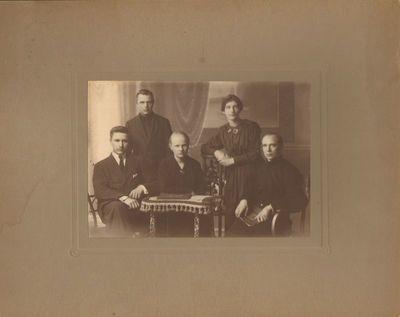 """""""Saulės"""" draugijos pedagoginių kursų baigiamoji laida Voroneže 1918 m."""