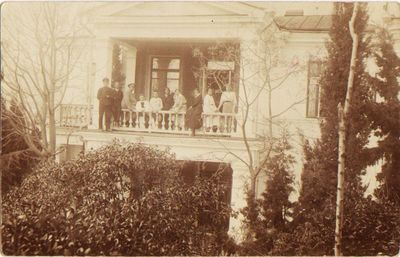 Komiteto nukentėjusiems nuo karo šelpti lietuviai sanatorijoje Jaltoje 1916 m.
