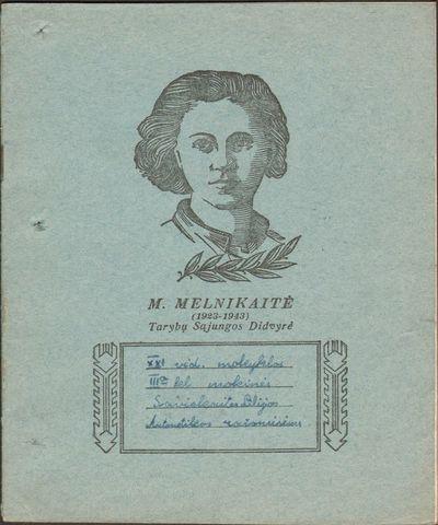 Lilijos Savickaitės sąsiuvinis aritmetikos rašomiesiems