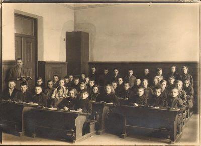 Kapčiamiesčio pradžios mokyklos antrasis skyrius 1929 metais