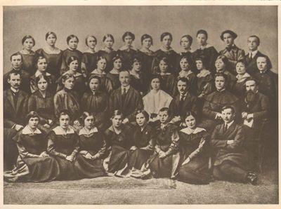 Voronežo lietuvių mokytojų seminarijos 1918 m. laida