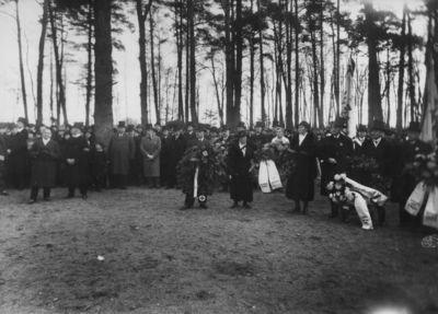 Žuvusių karių Pirmajame pasauliniame kare pagerbimo iškilmės Klaipėdos karių kapinėse