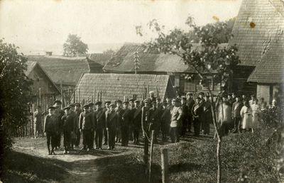 Vilkijos progimnazijos mokiniai