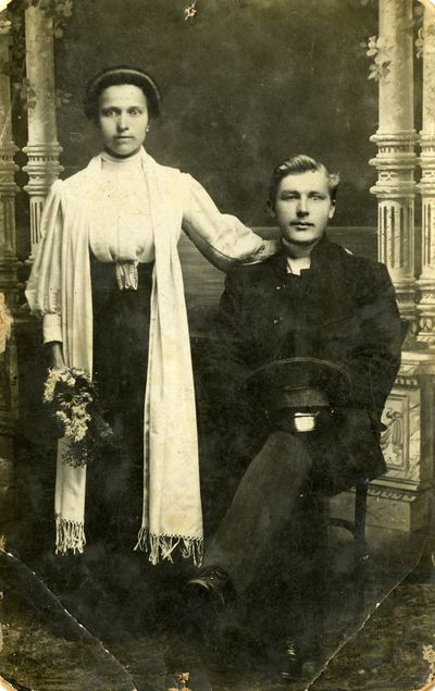 Vyro ir moters fotoportretas
