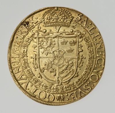 Moneta. 5 dukatai.  Zigmantas Vaza (1588-1632). LDK