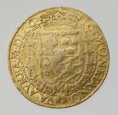 Moneta. 10 dukatų. Zigmantas Vaza (1588–1632). LDK