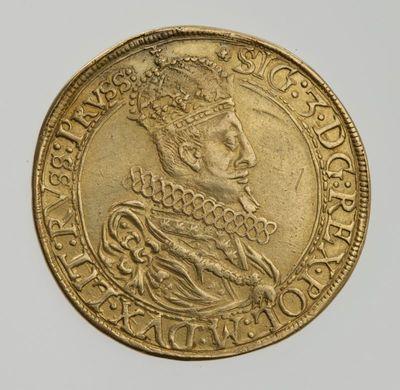 Moneta. 5 dukatai. Zigmantas Vaza (1588–1632). LDK