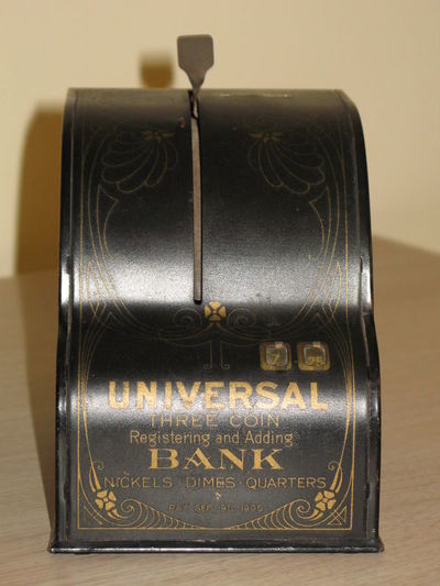 Taupyklė, su monetų skaičiuotuvu. JAV