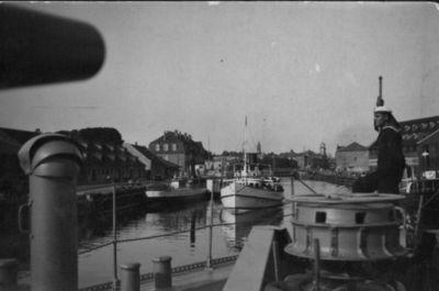 Dangės uoste Klaipėdoje
