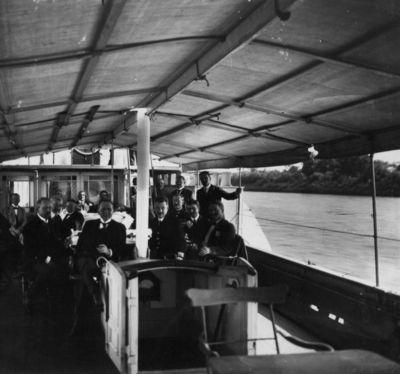 Iškyla laivu Prancūzijos parlamento deputatų vizito Klaipėdoje metu
