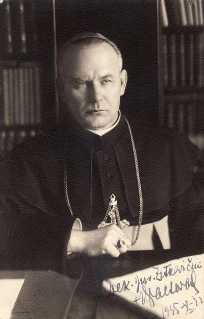 Panevėžio vyskupo Kazimiero Paltaroko portretas