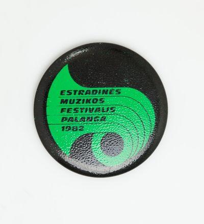 """Ženklelis """"Estradinės muzikos festivalis Palanga 1982"""""""