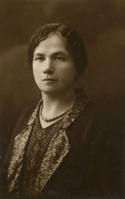 Marija Šlapelienė Vilniuje