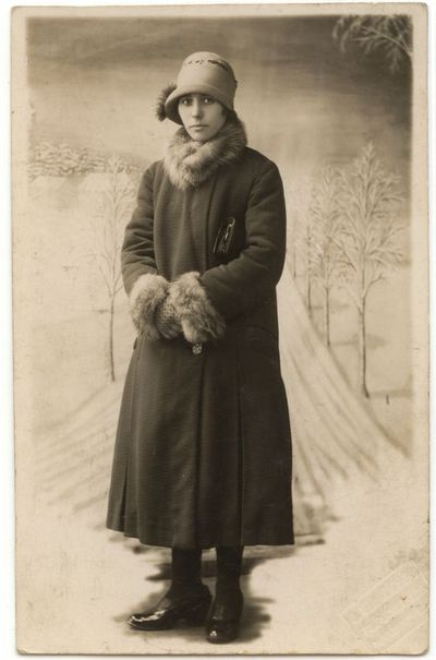 Marytės Stalioraitytės  portretas. 1930m.