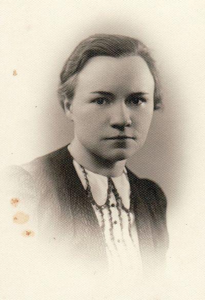 Teodoros Ladigaitės portretas