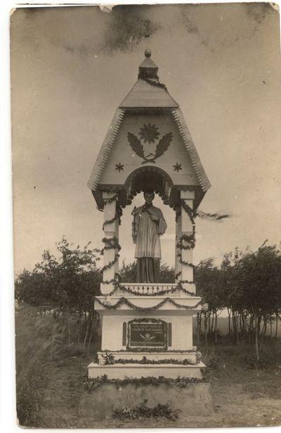 Šv. Aloyzas. Koplytėlė