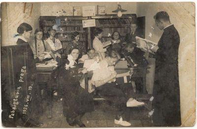 Marijonų vienuolyno biblioteka. 1936 m